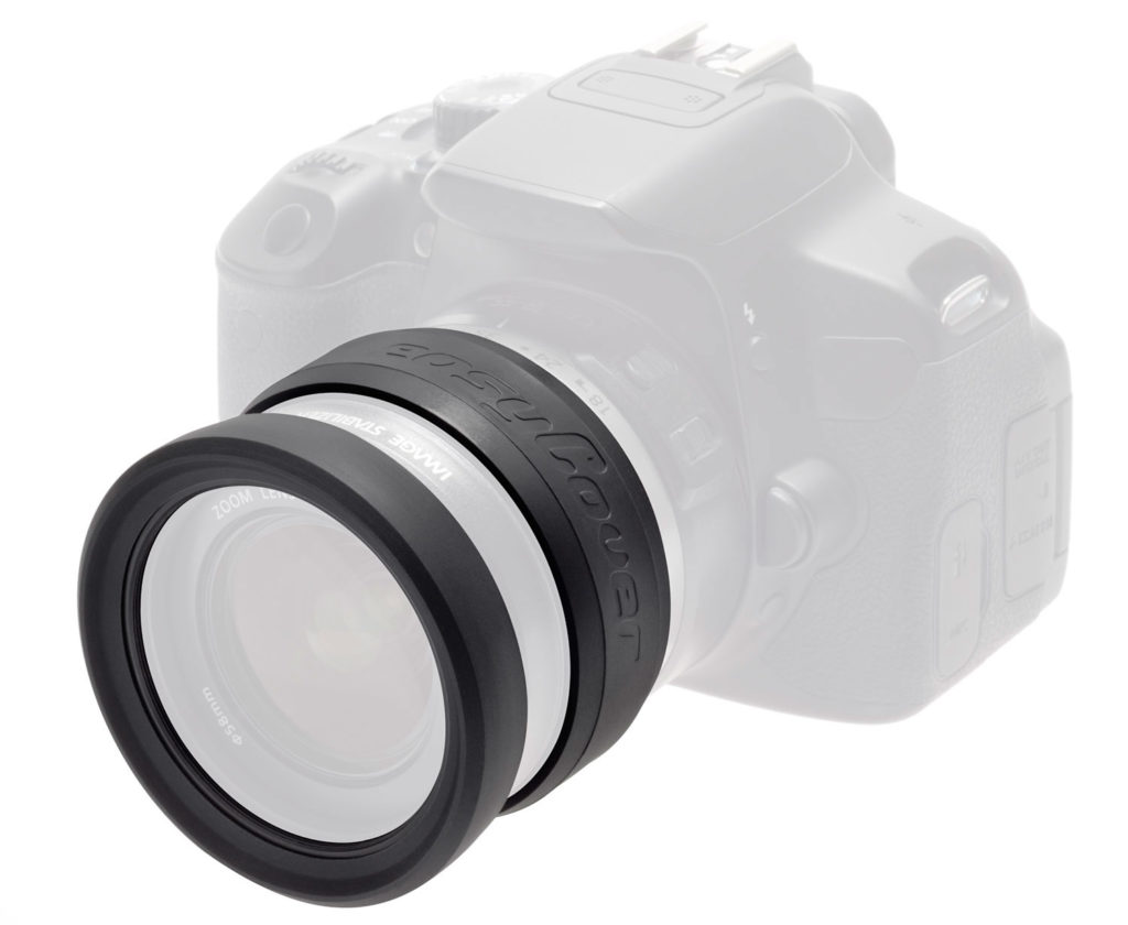 Easycover lens rim protection