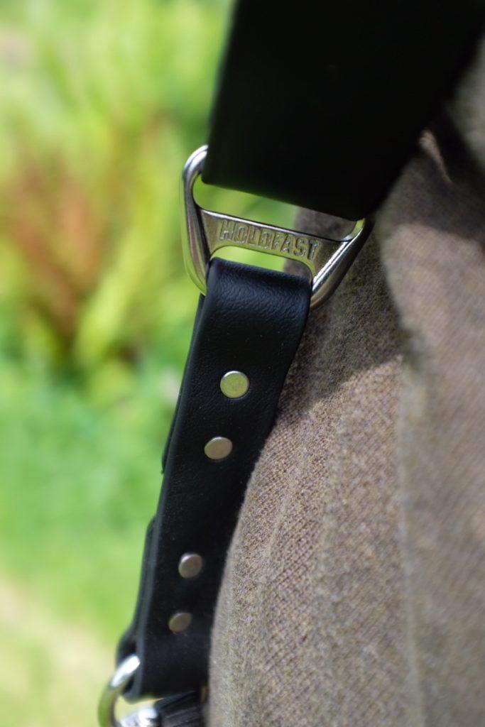 vegan leather holdfast moneymaker dual camera harness